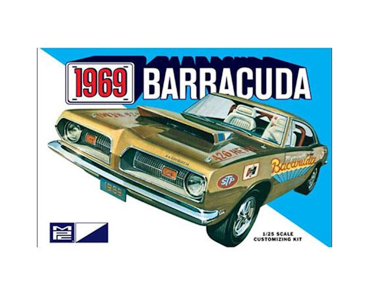 Round 2 MPC 1969 Plymouth Barracuda; 1:25