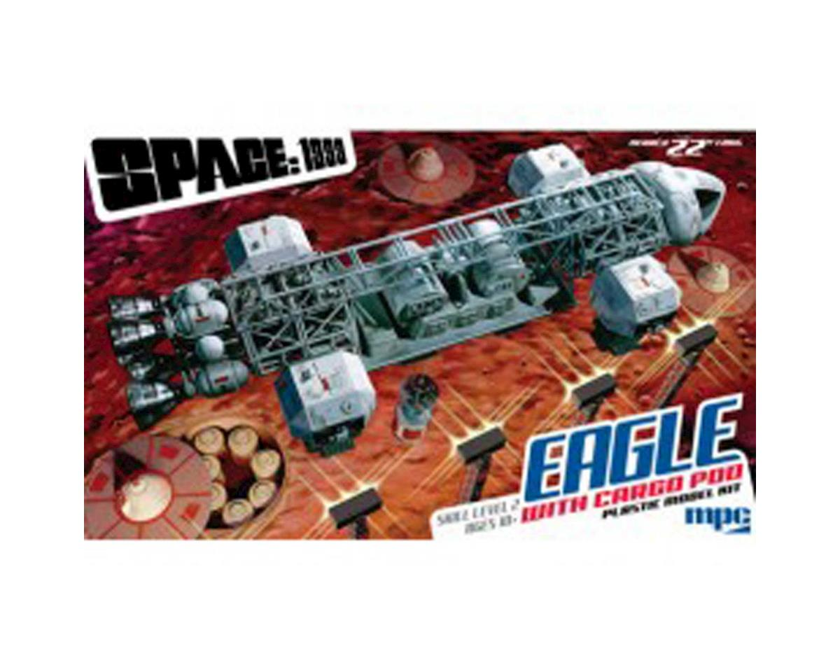 "Round 2 MPC 22"" Space: 1999 Eagle Transporter with Cargo Pod"