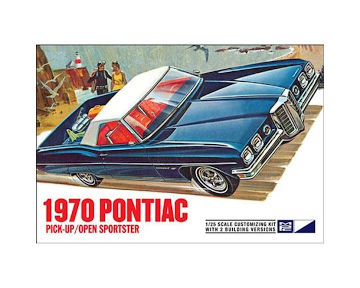 MPC 1970 Pontiac Bonneville Pick-up//Open Sportster 1//25 Scale Model Kit MPC840