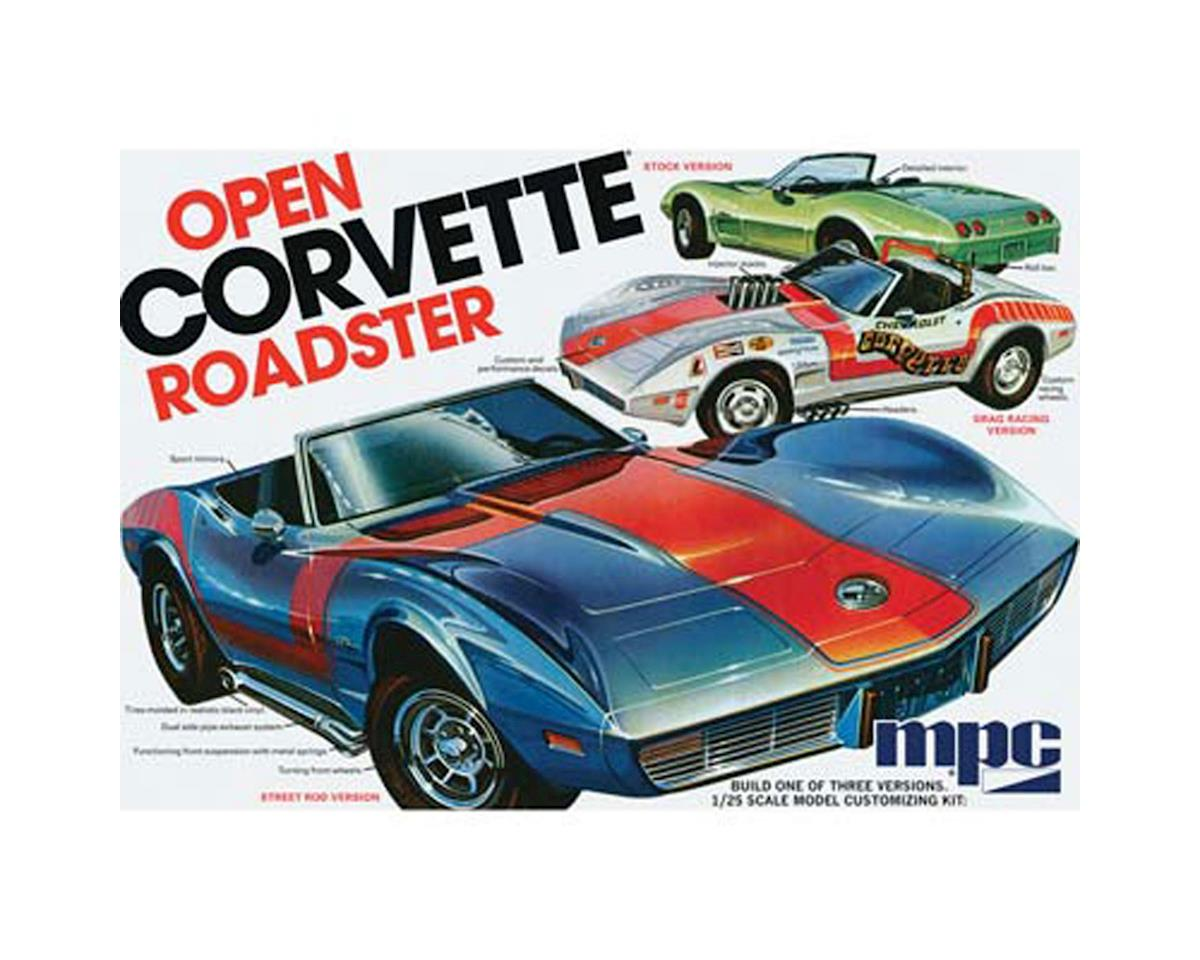 Round 2 MPC 1975 Chevrolet Corvette Convertible; 1:25