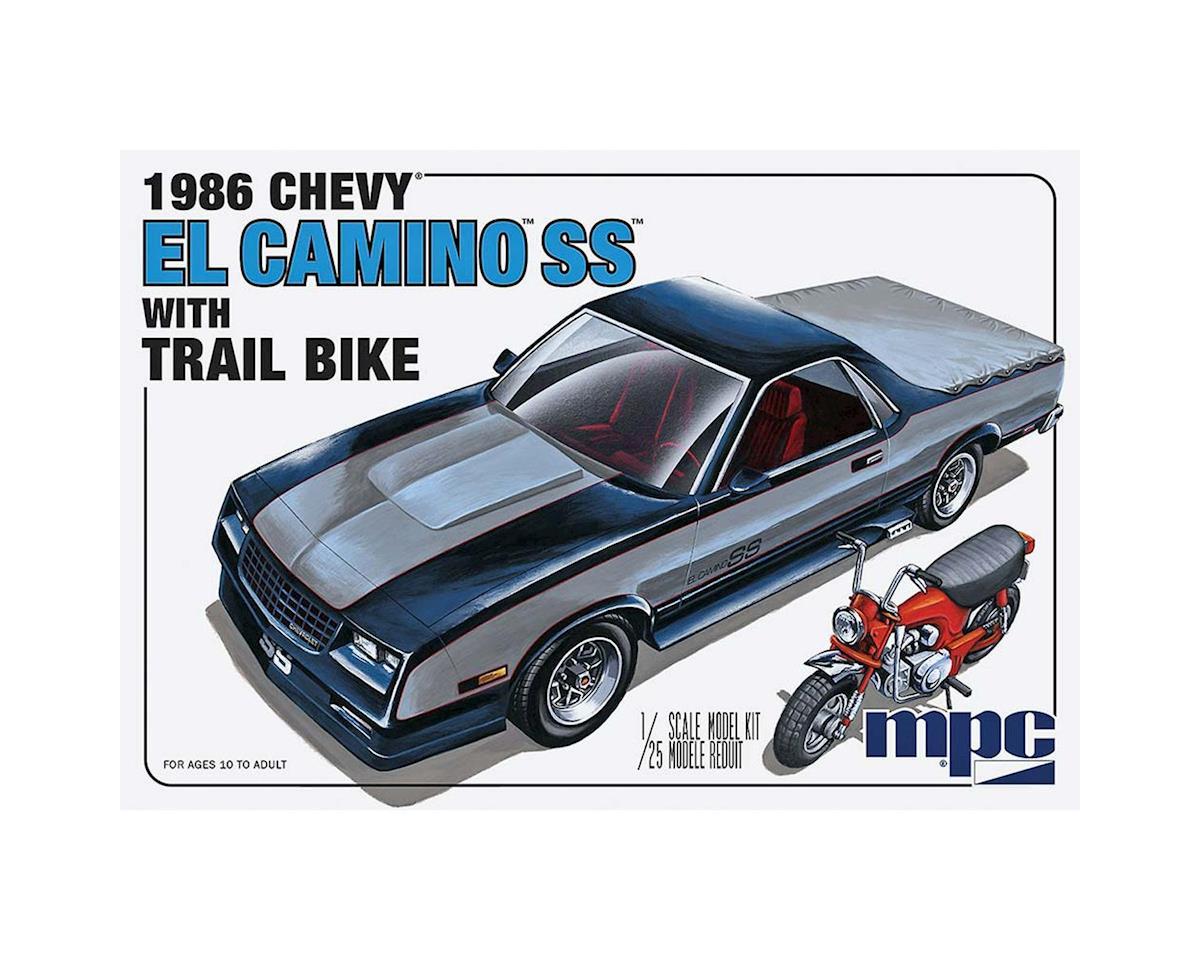 1/25 1986 Chevy El Camino SS w/Dirt Bike by Round 2 MPC