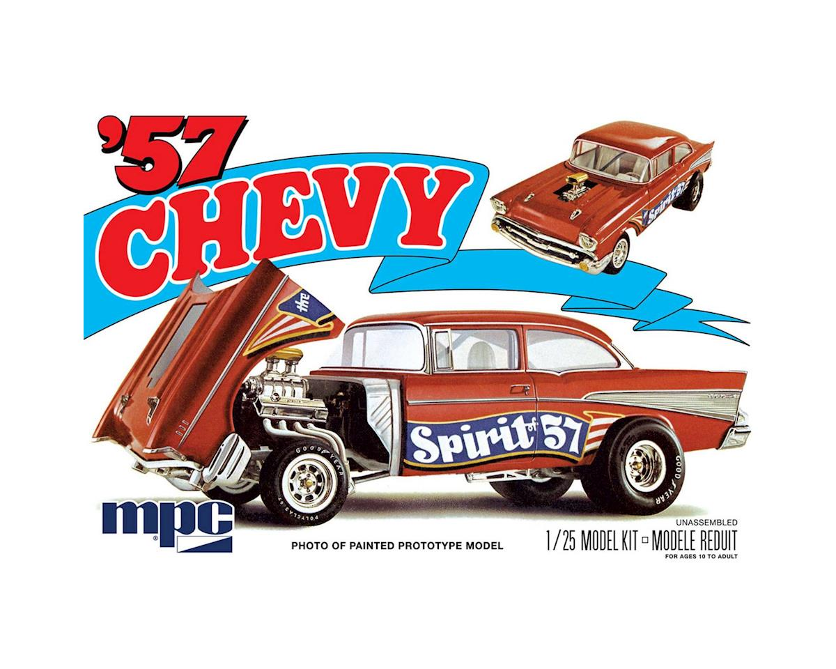 Round 2 MPC 1/25 1957 Chevy Flip Nose, Spirit of 57