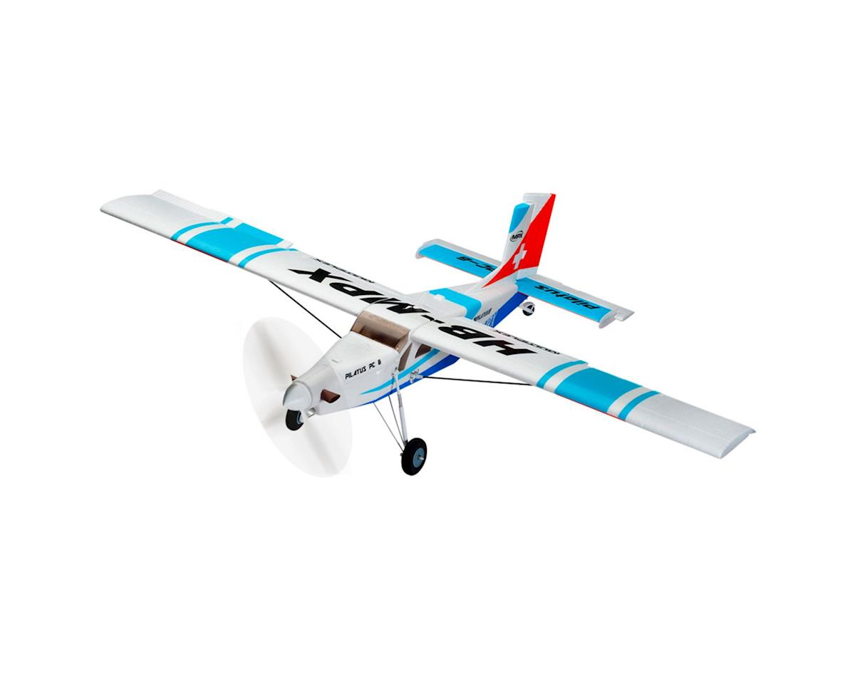 Multiplex Pilatus PC-6 RR,  Red : BL Motor, ESC, Servo