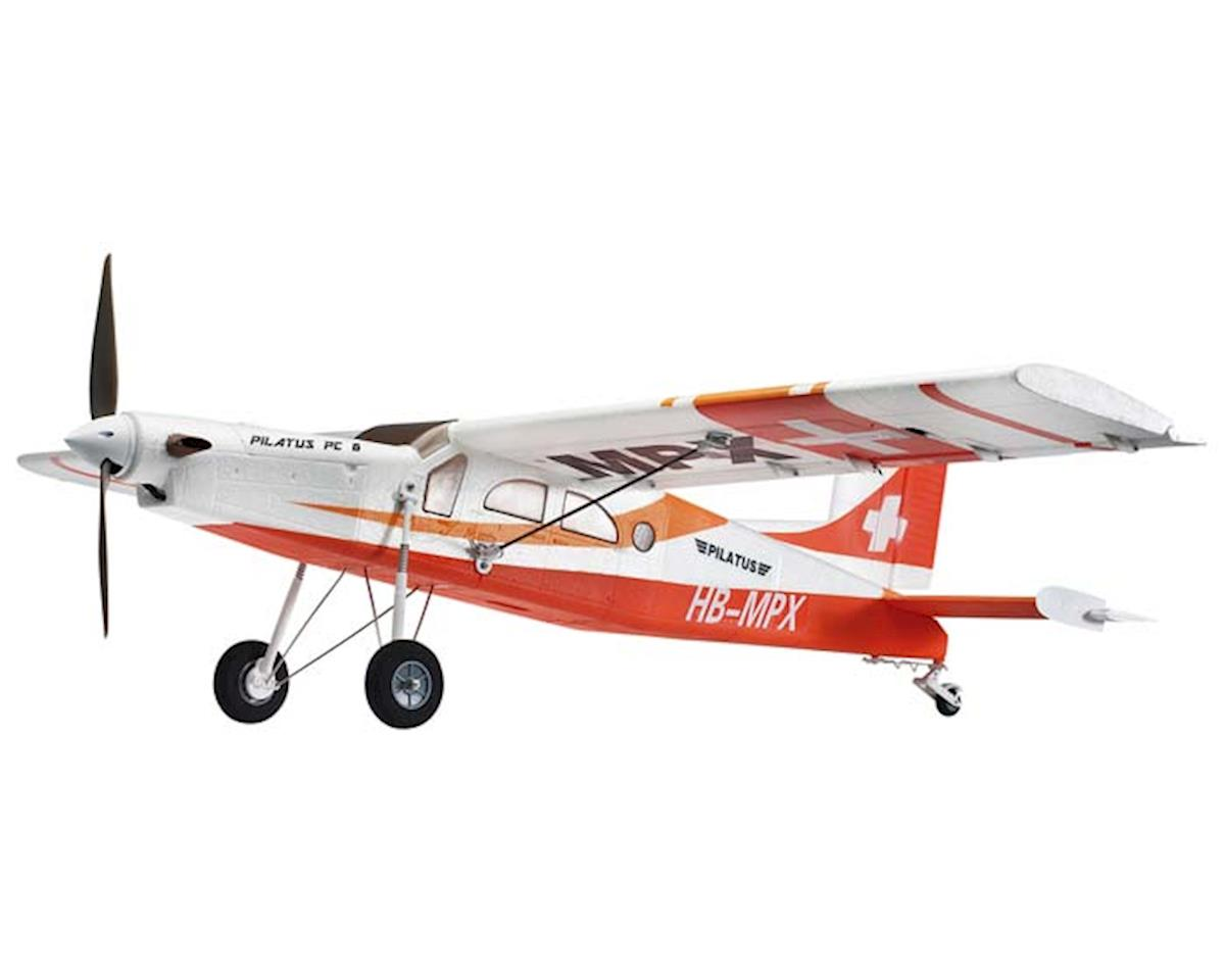 Multiplex M264291 Pilatus PC-6 RR Red w/BL Mtr/ESC/Servo/Link