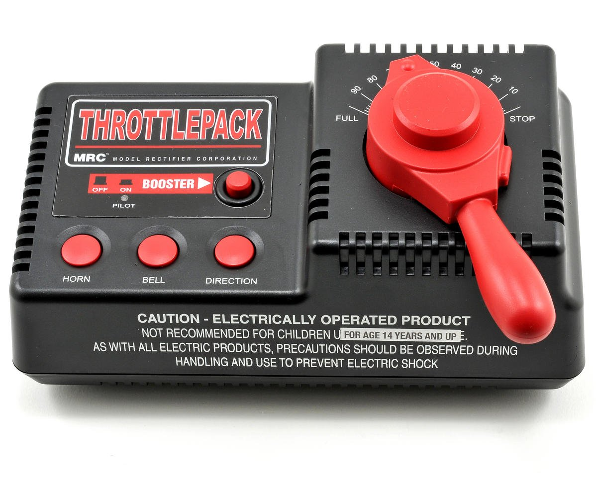 Throttlepack AC Train Controller (80W)