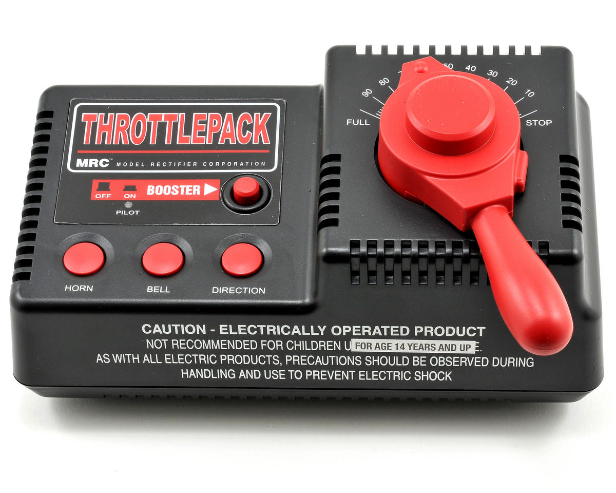 MRC Throttlepack AC Train Controller (80W)
