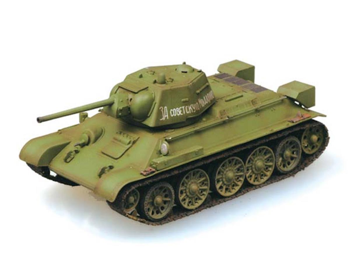 1/72 T-34/76 Tank, Autumn '43, Easy Model by MRC