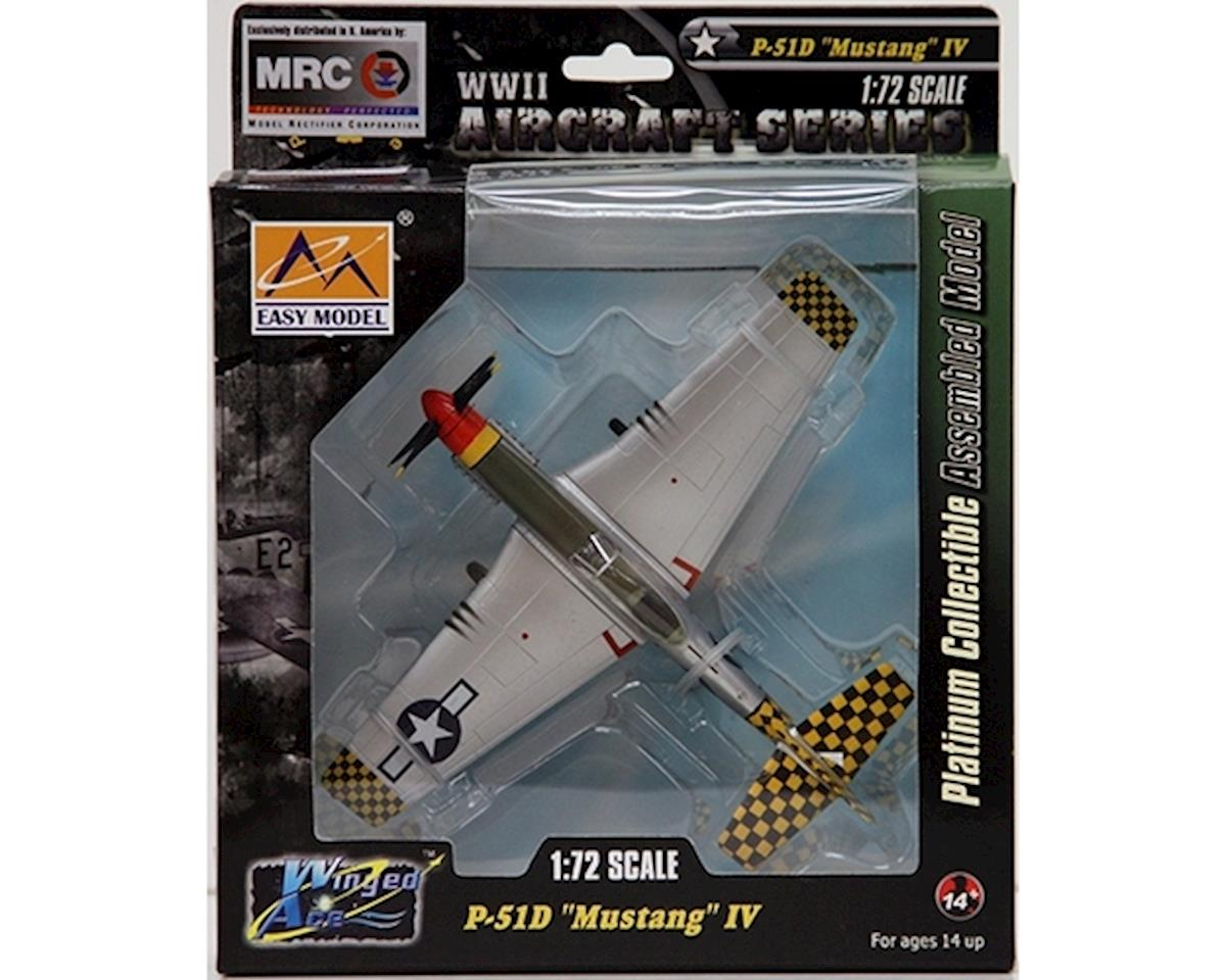 1/72 P51D IV 319th FS, 325th FG Italy WWII (Built-