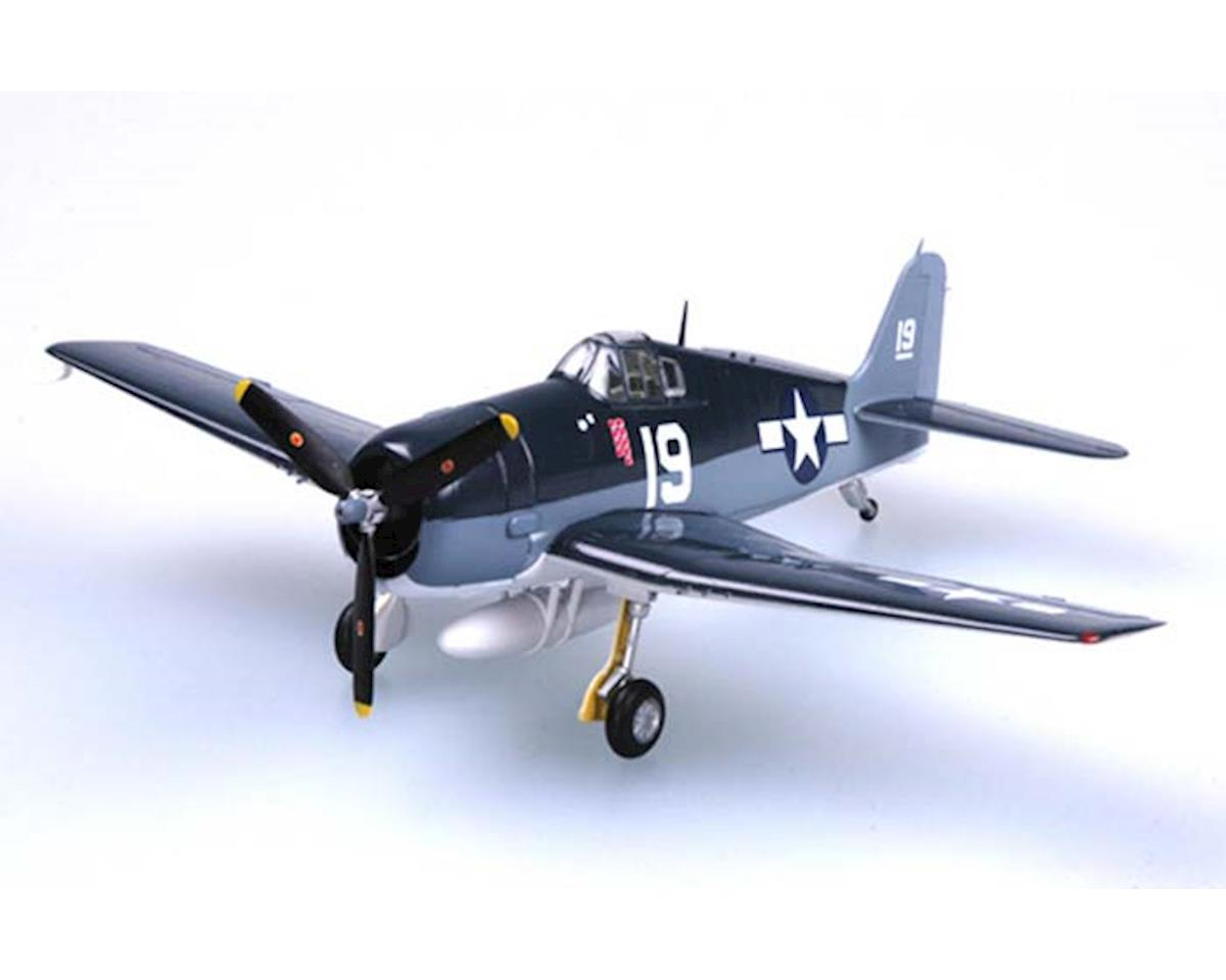 MRC Model Rectifier Corp  1/72 F6f Hellcat Vf6 Uss Intrepid 1944 Wwii Pre-Built Model