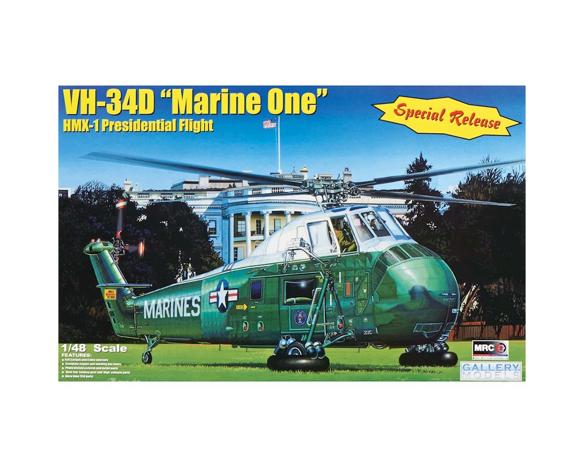 MRC Gallery Models: 1/48 VH34D Marine One Kennedy Pres