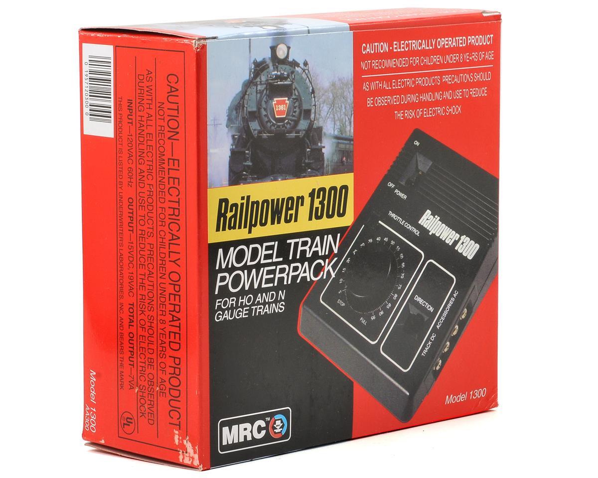 MRC Railpower 1300 HO, N, TT & Z Model Train Power Pack