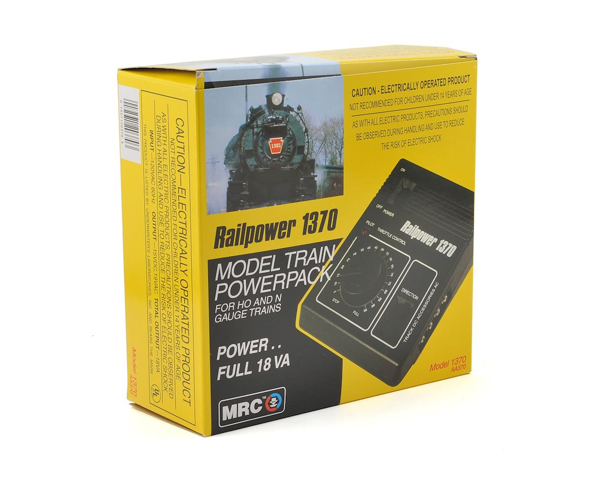 MRC Railpower 1370 HO & N Model Train Power Pack