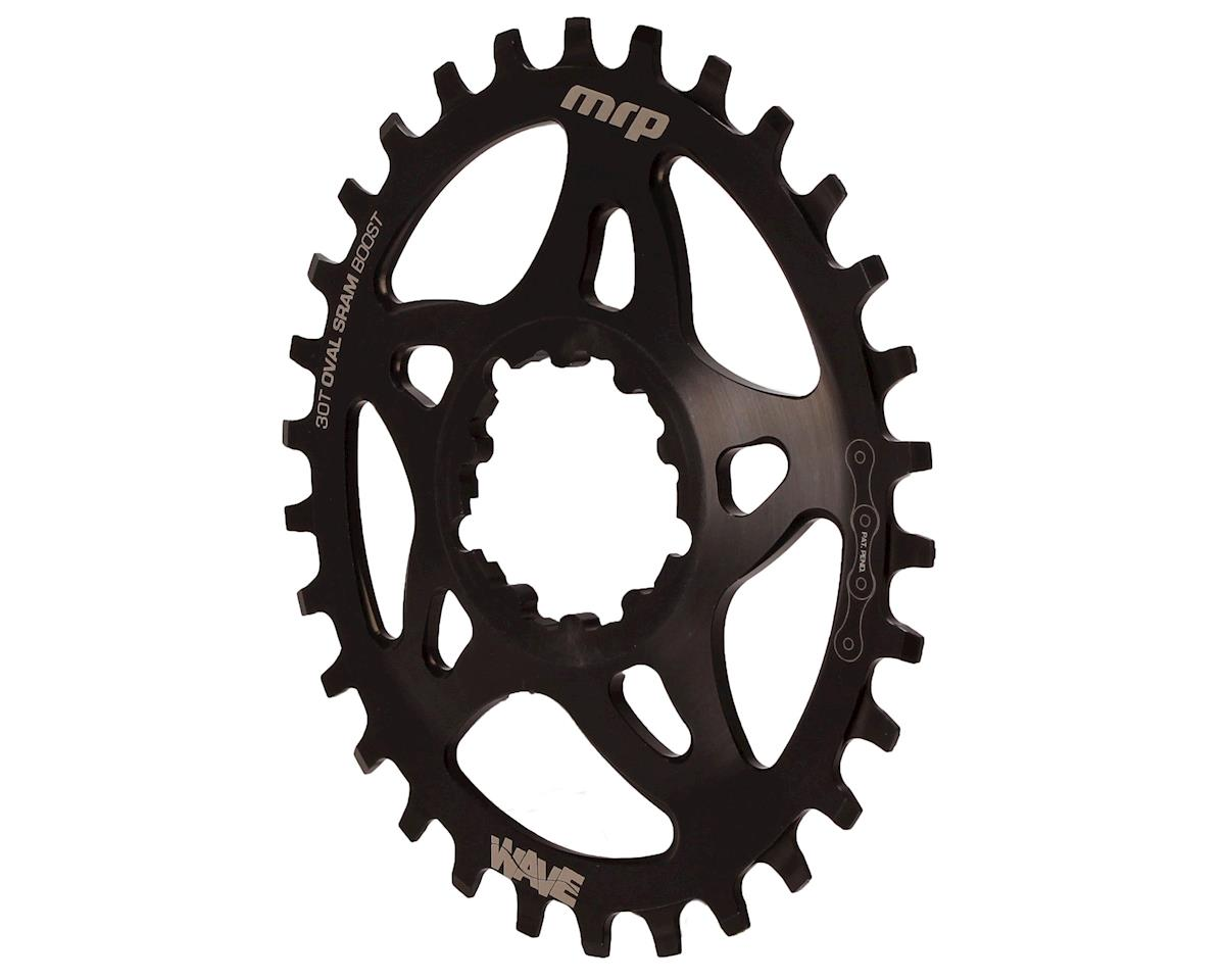 MRP Wave oval chainring, SRAM DM 30t, boost - black
