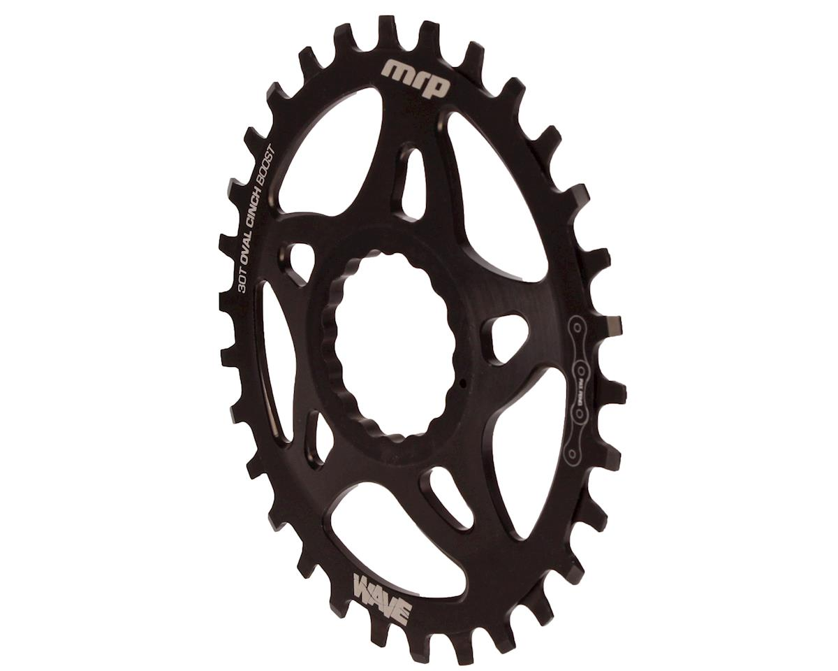 MRP Wave OVAL 1x Chainring 30T RaceFace Cinch Mount Black