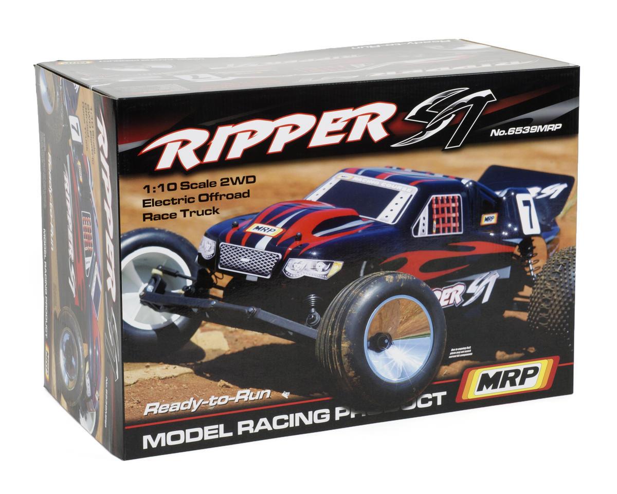 MRP Ripper ST 1/10 Stadium Truck RTR w/2.4GHz Radio (Black)