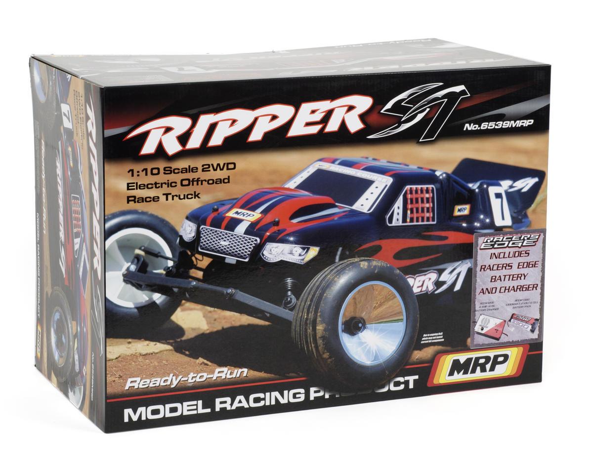 MRP Ripper ST 1/10 Stadium Truck RTR Combo w/2.4GHz, 6-Cell Battery & Peak Charger (Black)