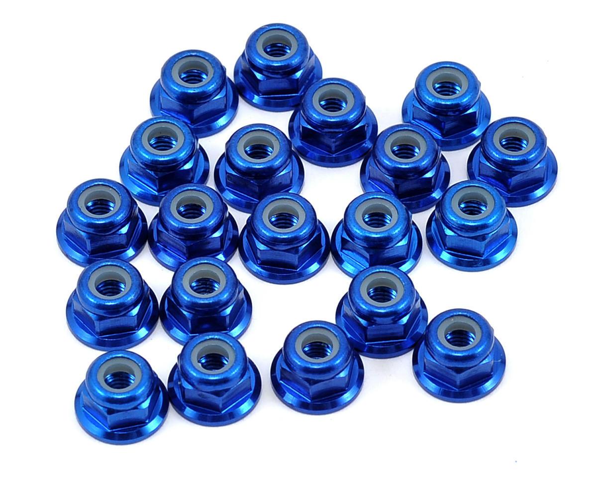 MRP M3 Aluminum Nut (20) (Blue)