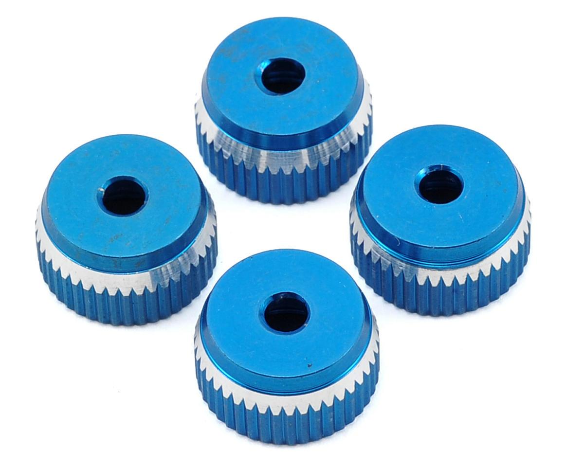 MRP Aluminum Shock Bottom Set (Blue) (4)