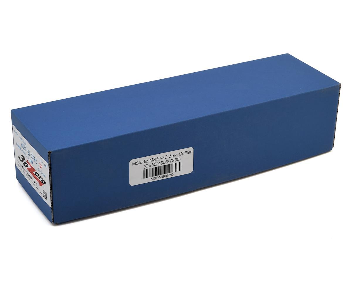 MStudio MS60-3D Zero Muffler (OS55/YS56/YS60)