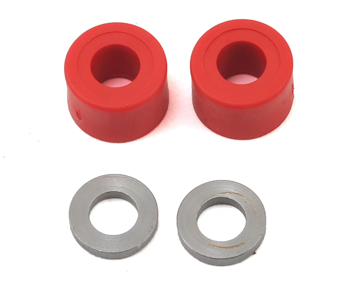 MSHeli Head Dampers (Red) (MS Heli Protos 380)