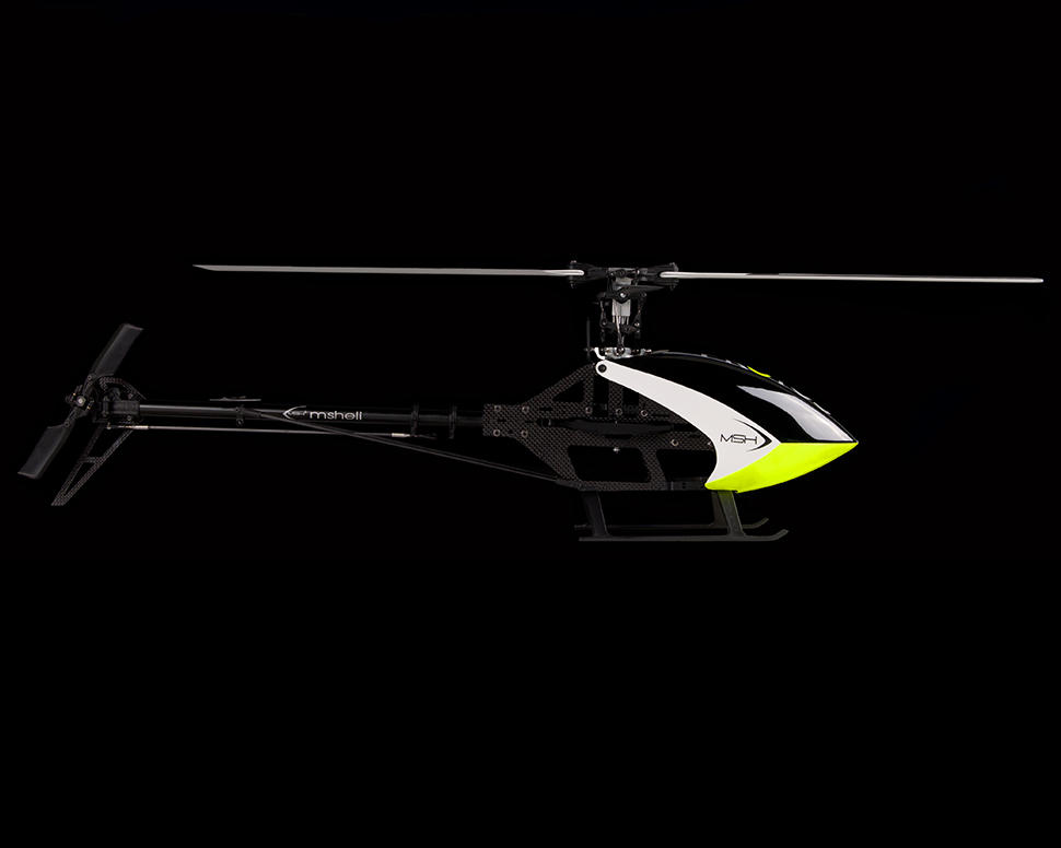 MSHeli Mini Protos 450 Carbon Helicopter Kit (YGE+Scorpion+SAB)