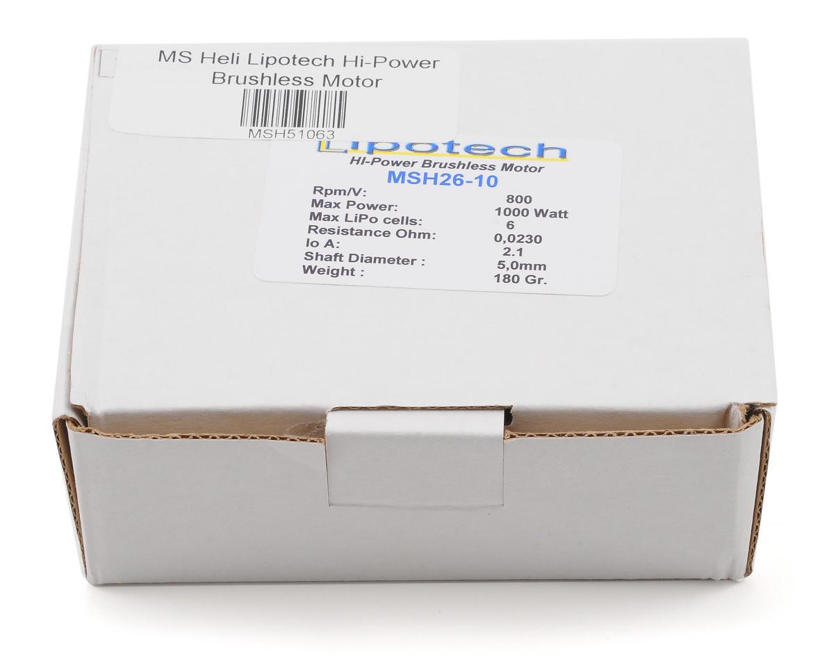 MSHeli Lipotech Hi-Power Brushless Motor
