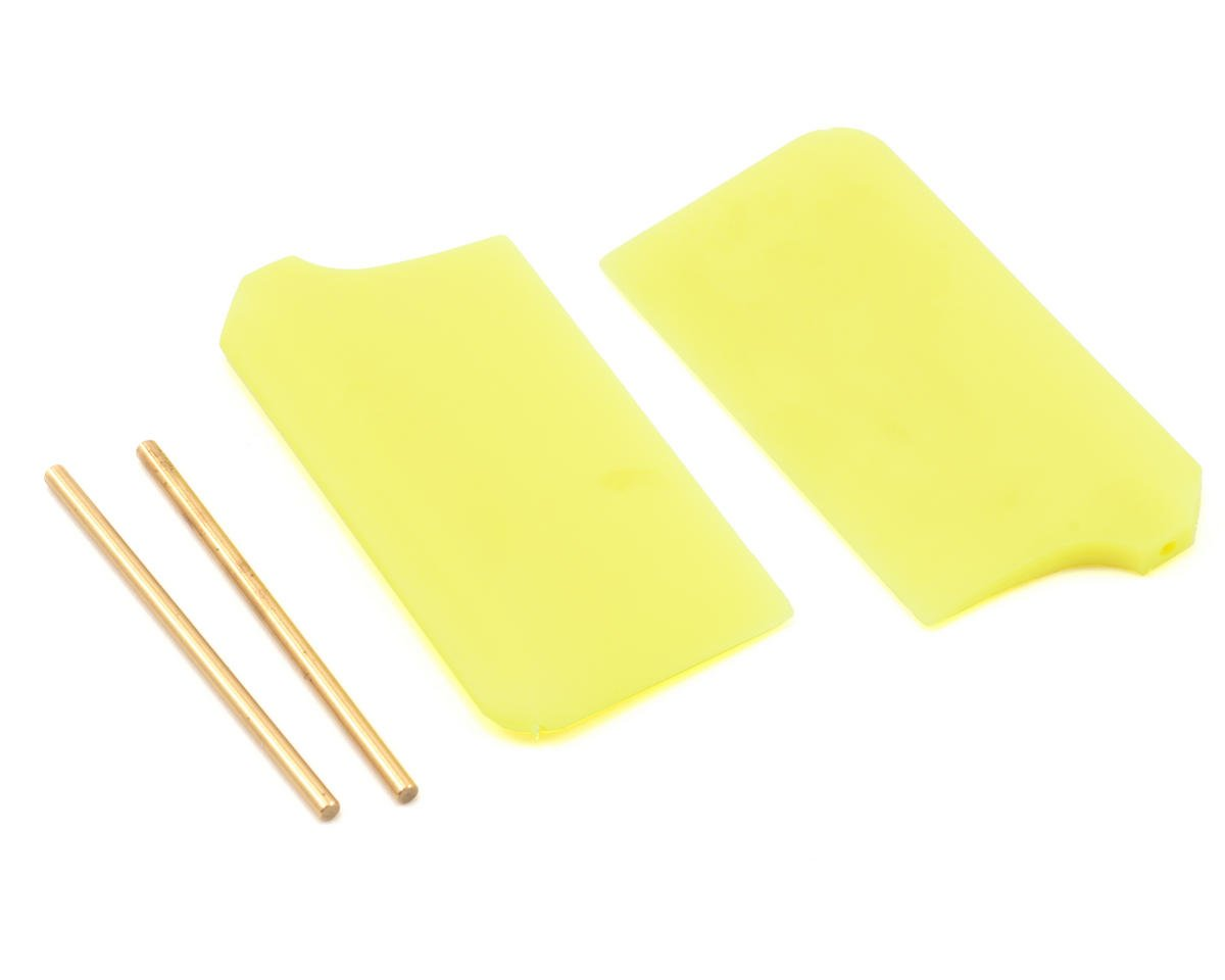 MSHeli Flybar Paddle Set (Yellow) (MS Heli Protos 500)