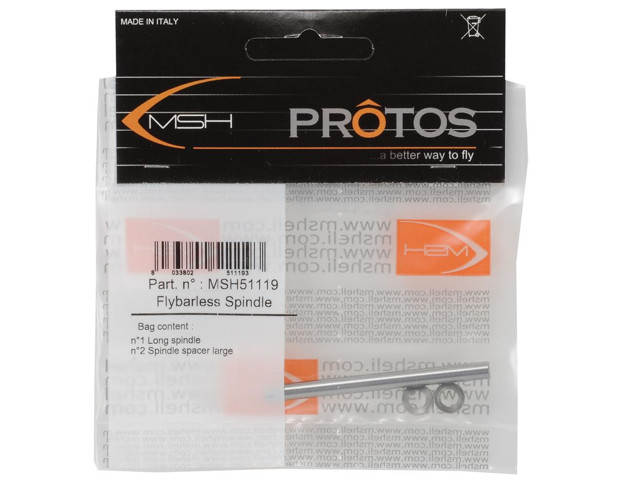 MSHeli Long Flybarless Feathering Shaft (Protos)