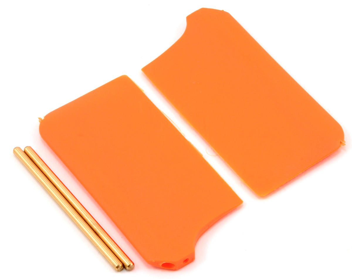 MSHeli Flybar Paddle Set (Orange)
