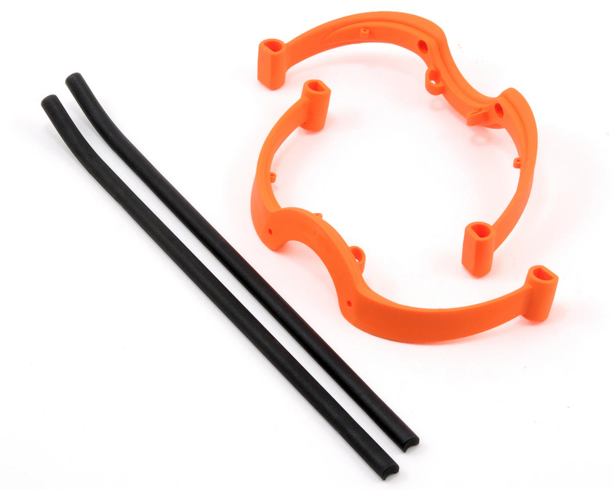 MSHeli Complete Landing Gear Set (Orange)