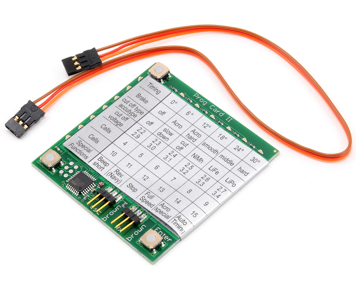 MSHeli YGE V3 Programing Card
