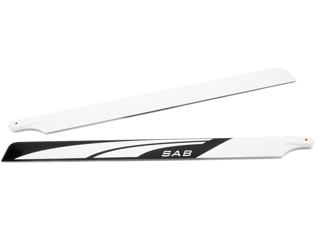 MSHeli 470mm SAB Carbon Fiber Blade Set