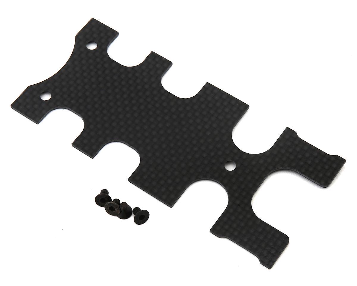 MSH Protos 700Xeli Rear Carbon Fiber Frame Plate Cover