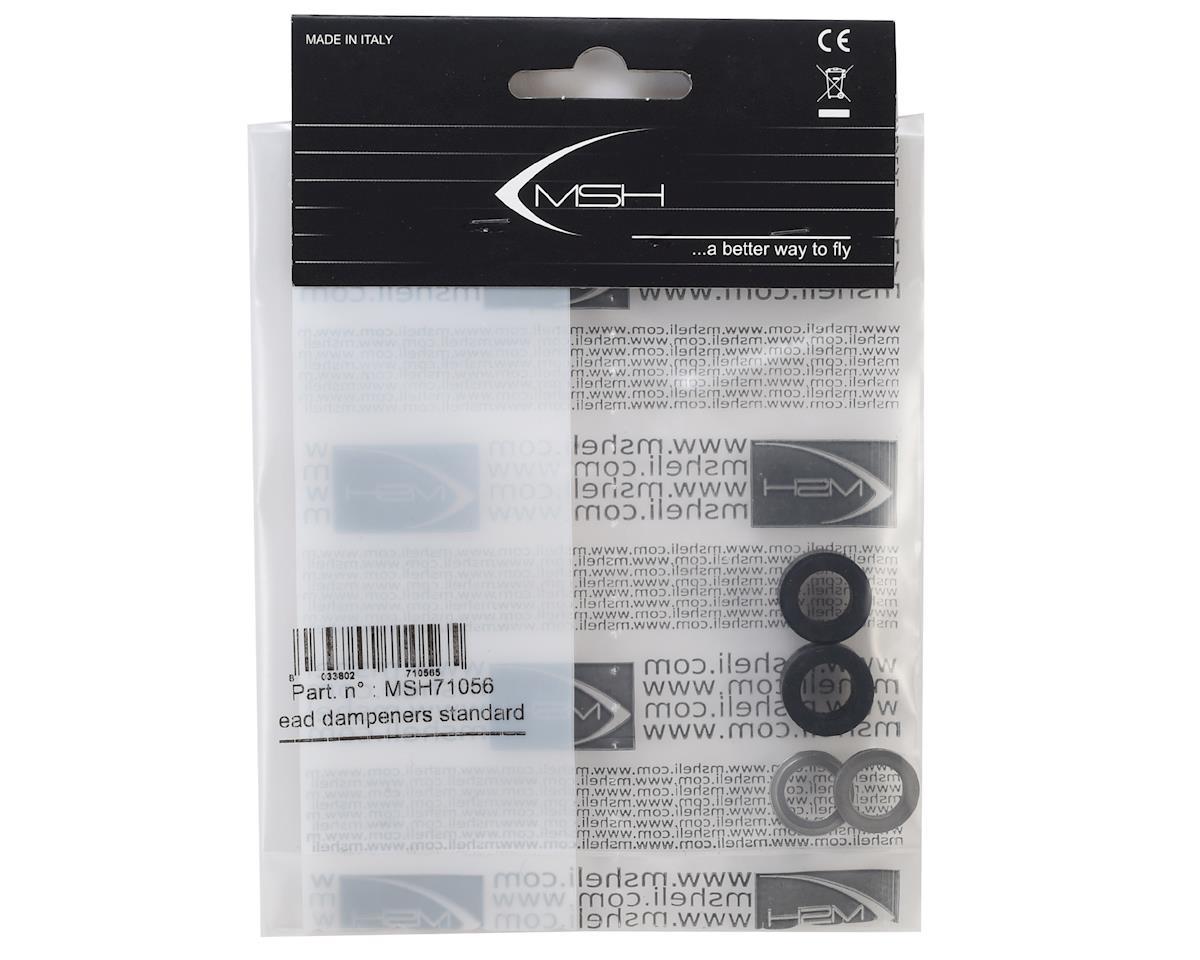 MSHeli Standard Head Dampeners (Black)