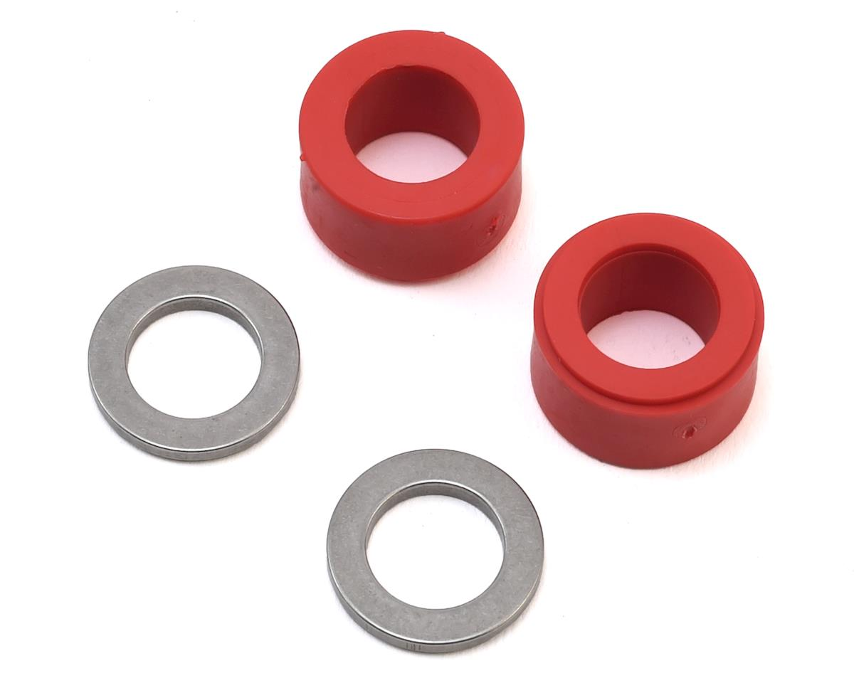 MSHeli 3D Head Dampeners (Red) (MS Heli Protos 700)