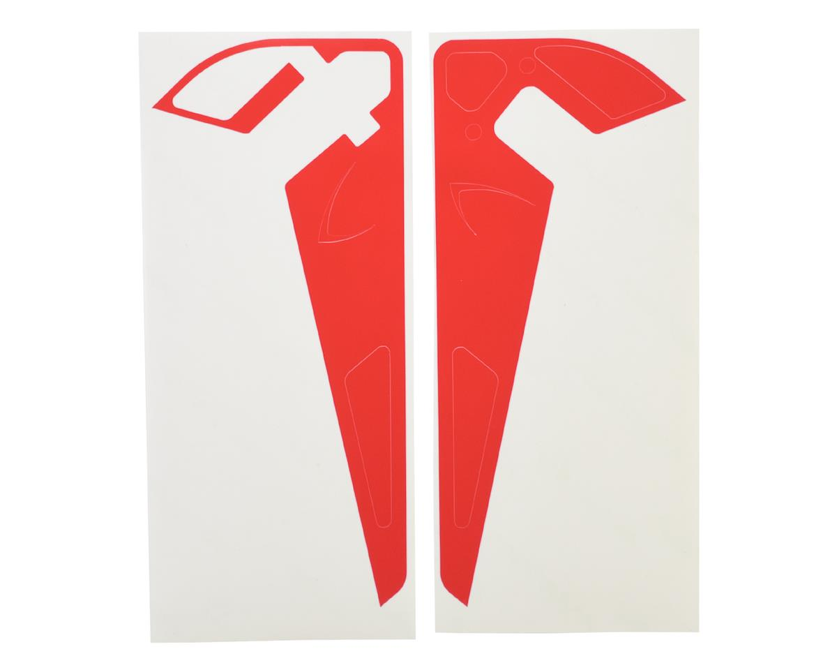 MSH Protos 700eli Tail Fin Sticker (Red)
