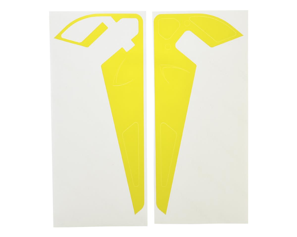 MSHeli Tail Fin Sticker (Yellow)