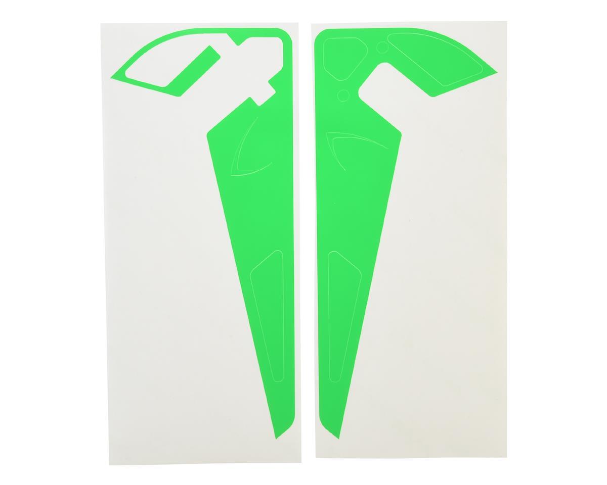 MSHeli Vertical Fin Sticker (Green)