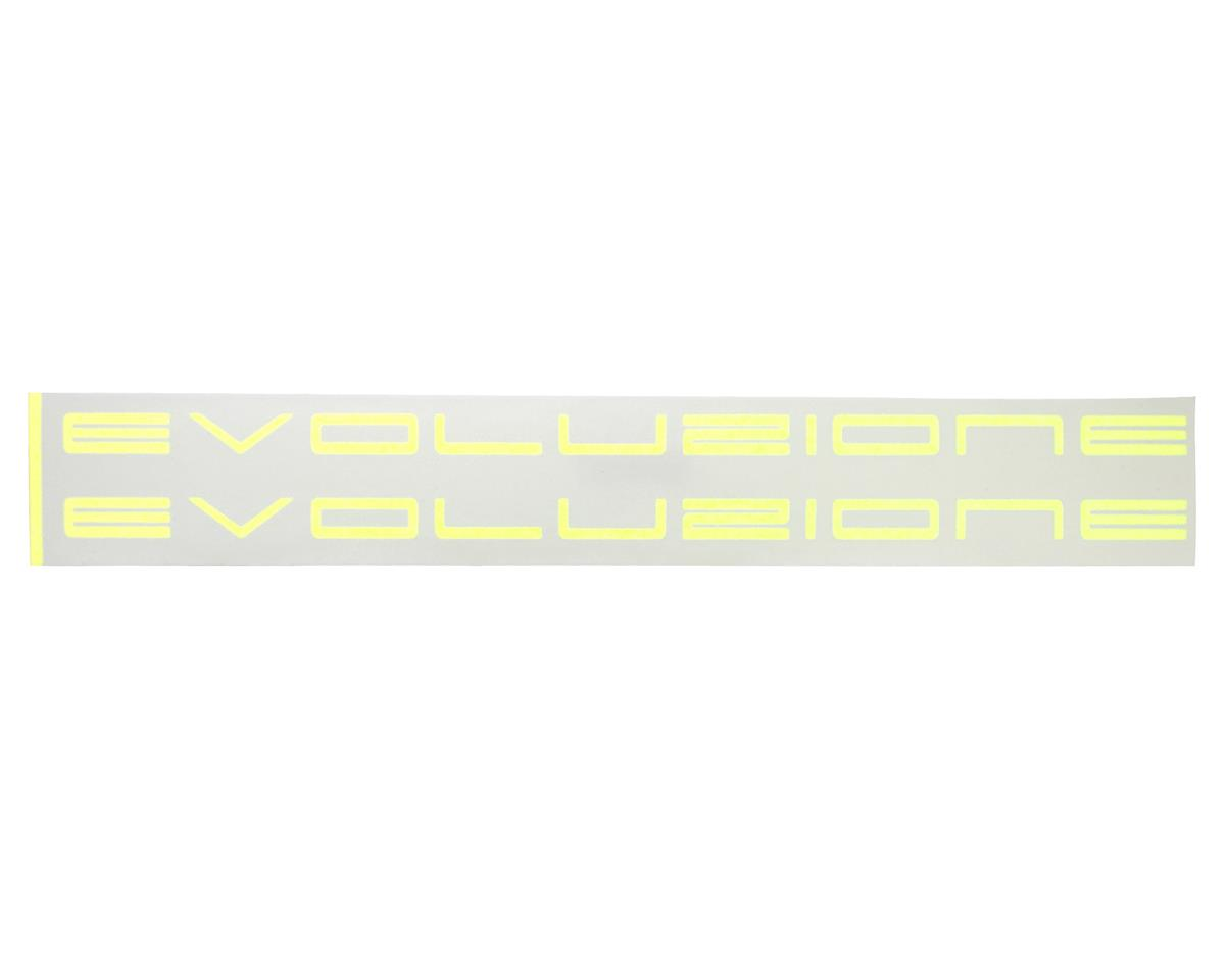 MSHeli Evo Boom Sticker (Yellow)