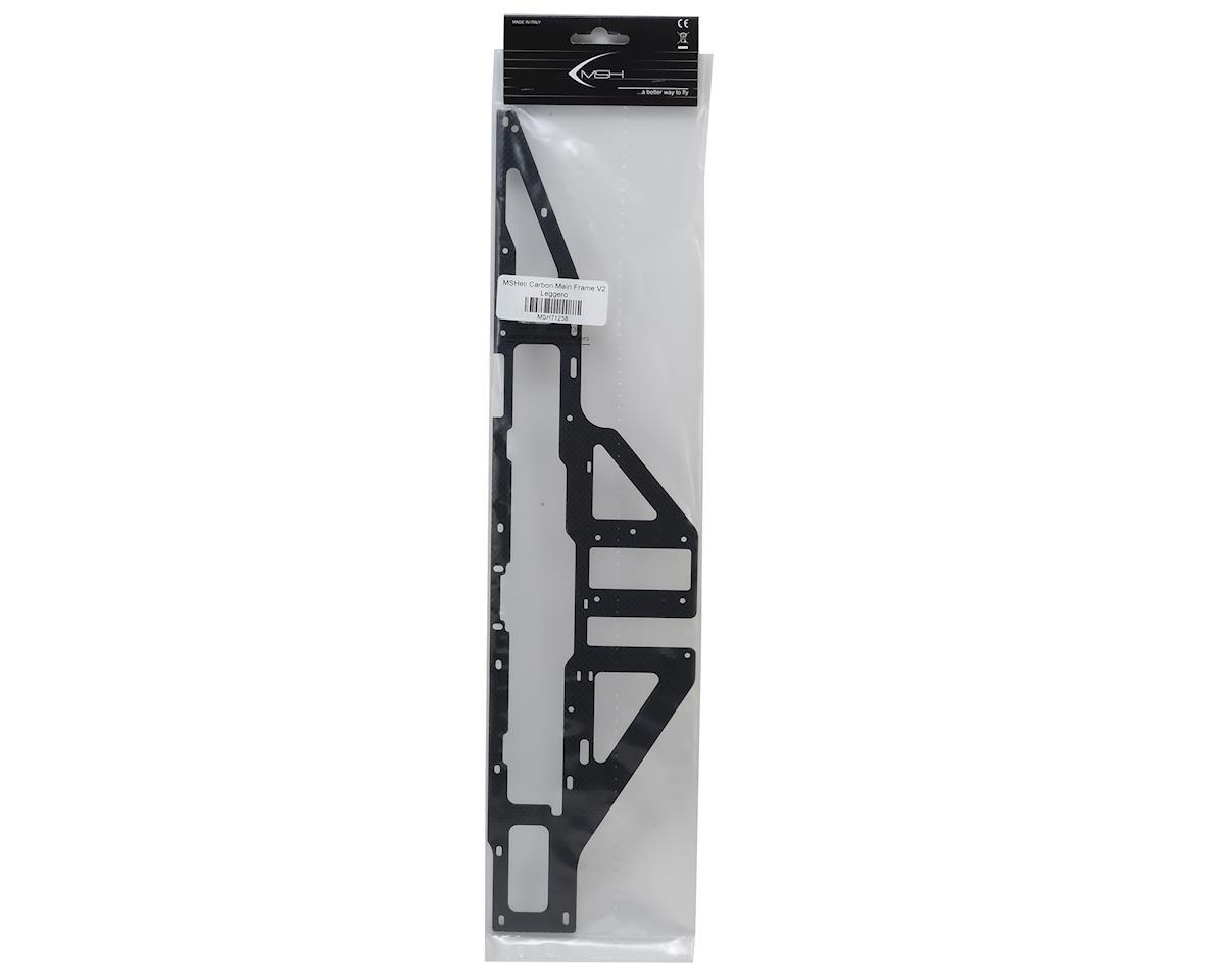 MSHeli Carbon Main Frame V2 Leggero