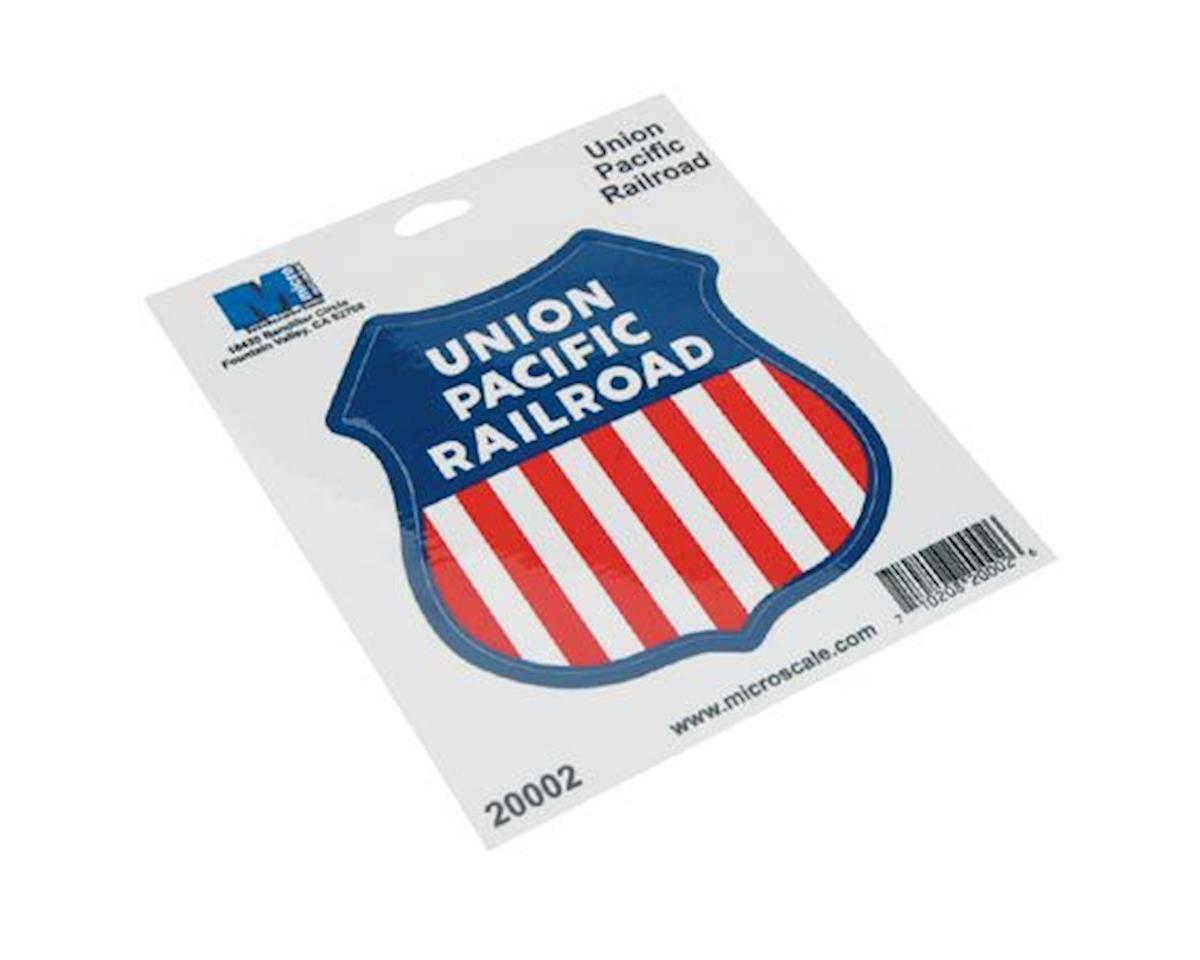 "Microscale Industries 4"" Vinyl Sticker, UP"