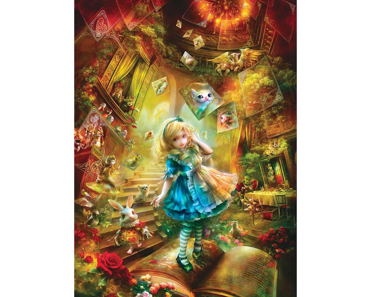 Masterpieces Puzzles & Games 31443 Down The Rabbit Hole 300EZ