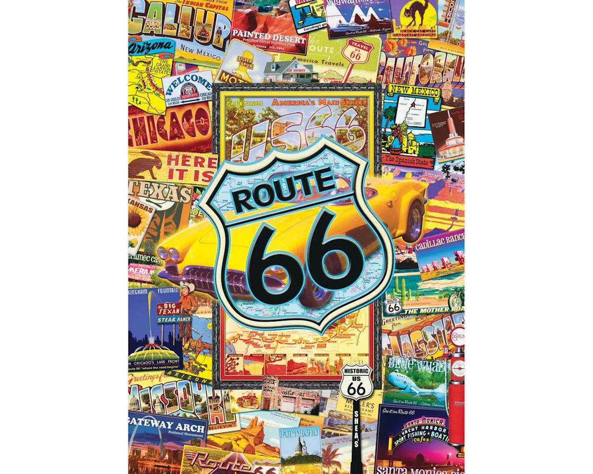 Masterpieces Puzzles & Games 31527 Route 66 1000pcs