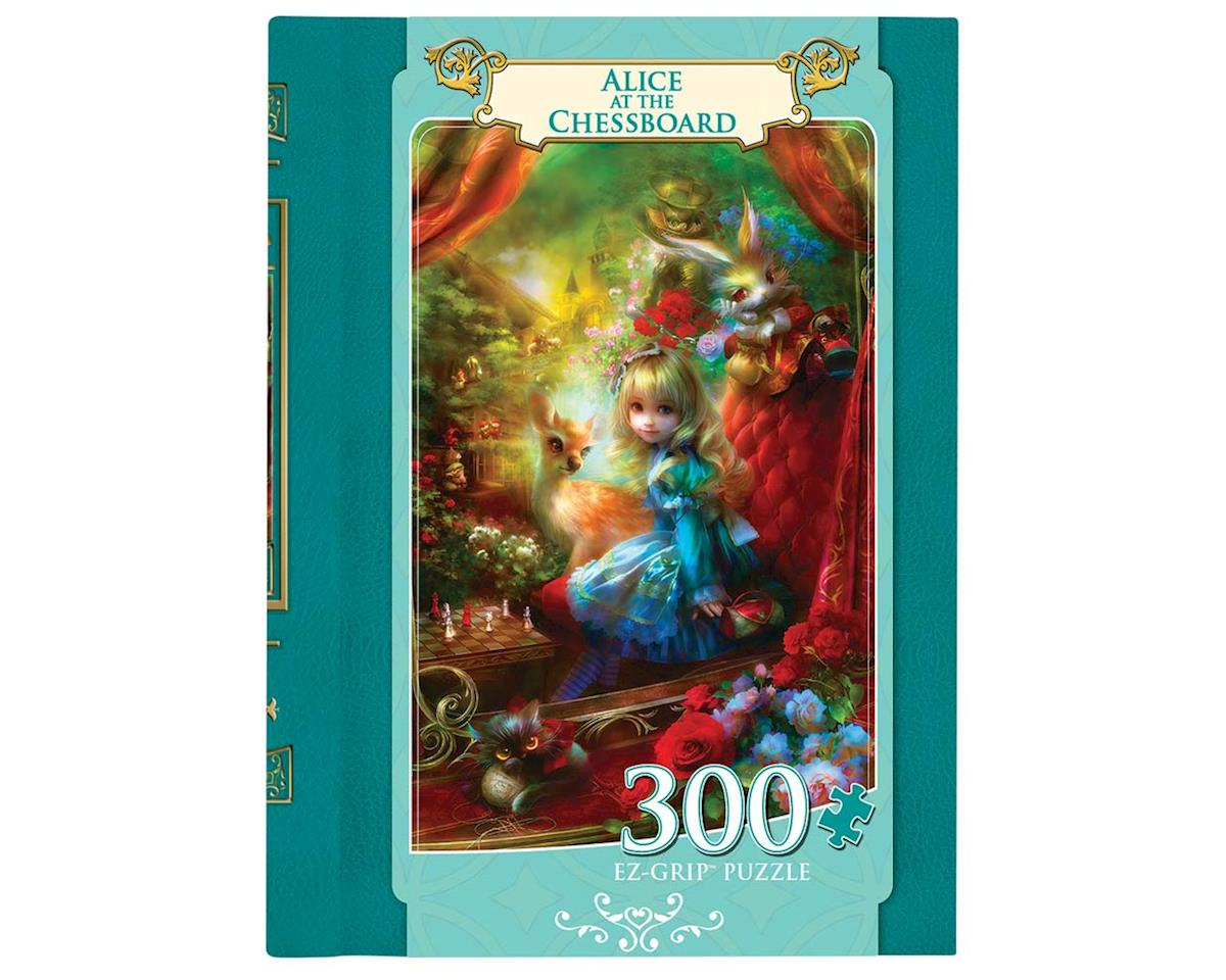 Masterpieces Puzzles & Games 31648 Alice at the Chessboard 300pcs EZ