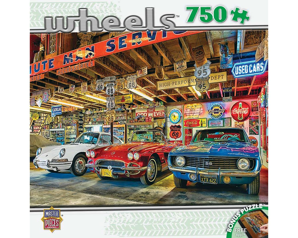 Masterpieces Puzzles & Games 31690 Triple Threat 750pcs
