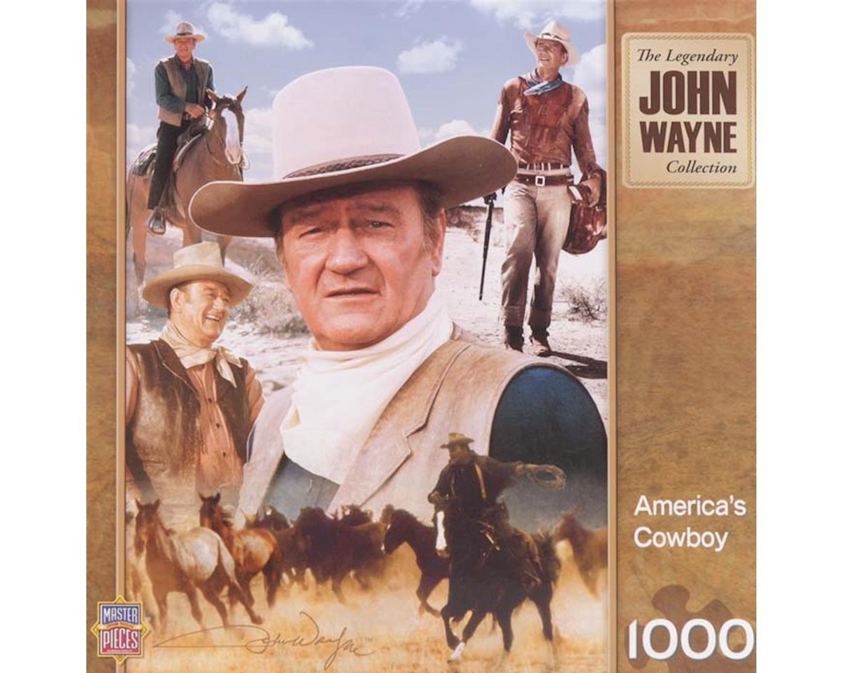 Masterpiece Puzzles  America's Cowboy John Wayne 1000Pc Puzzle by Masterpieces Puzzles & Games