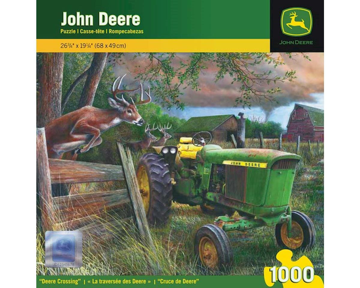 Masterpieces Puzzles & Games 71304 Deere Crossing John Deere 1000pcs