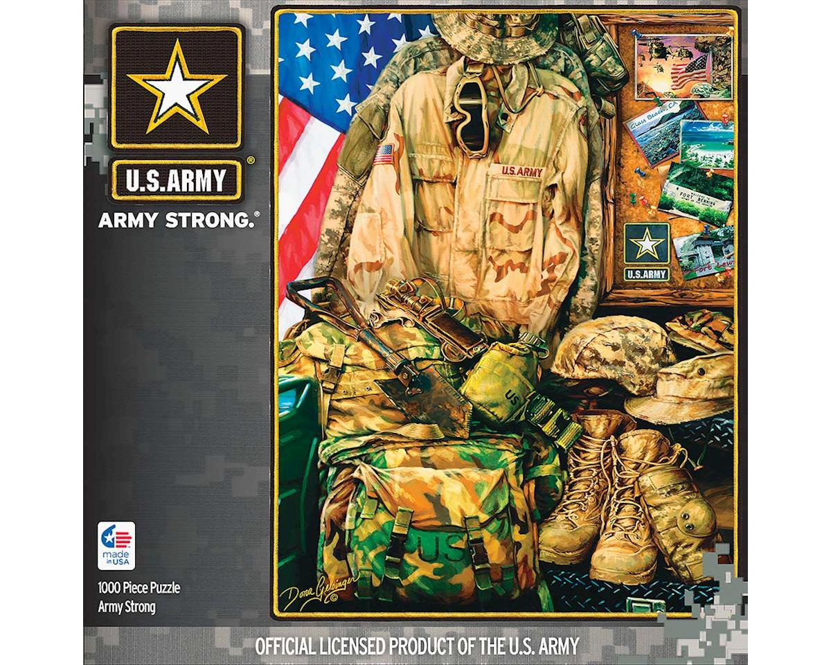 Army Strong 1000Pcs by Masterpieces Puzzles & Games