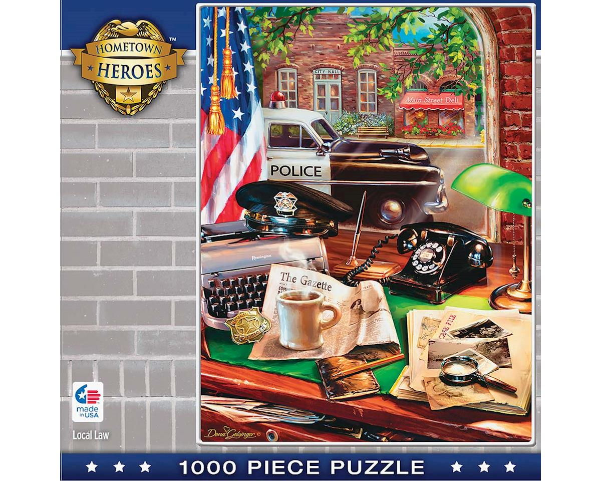 Masterpieces Puzzles & Games 71513 Local Law 1000pcs