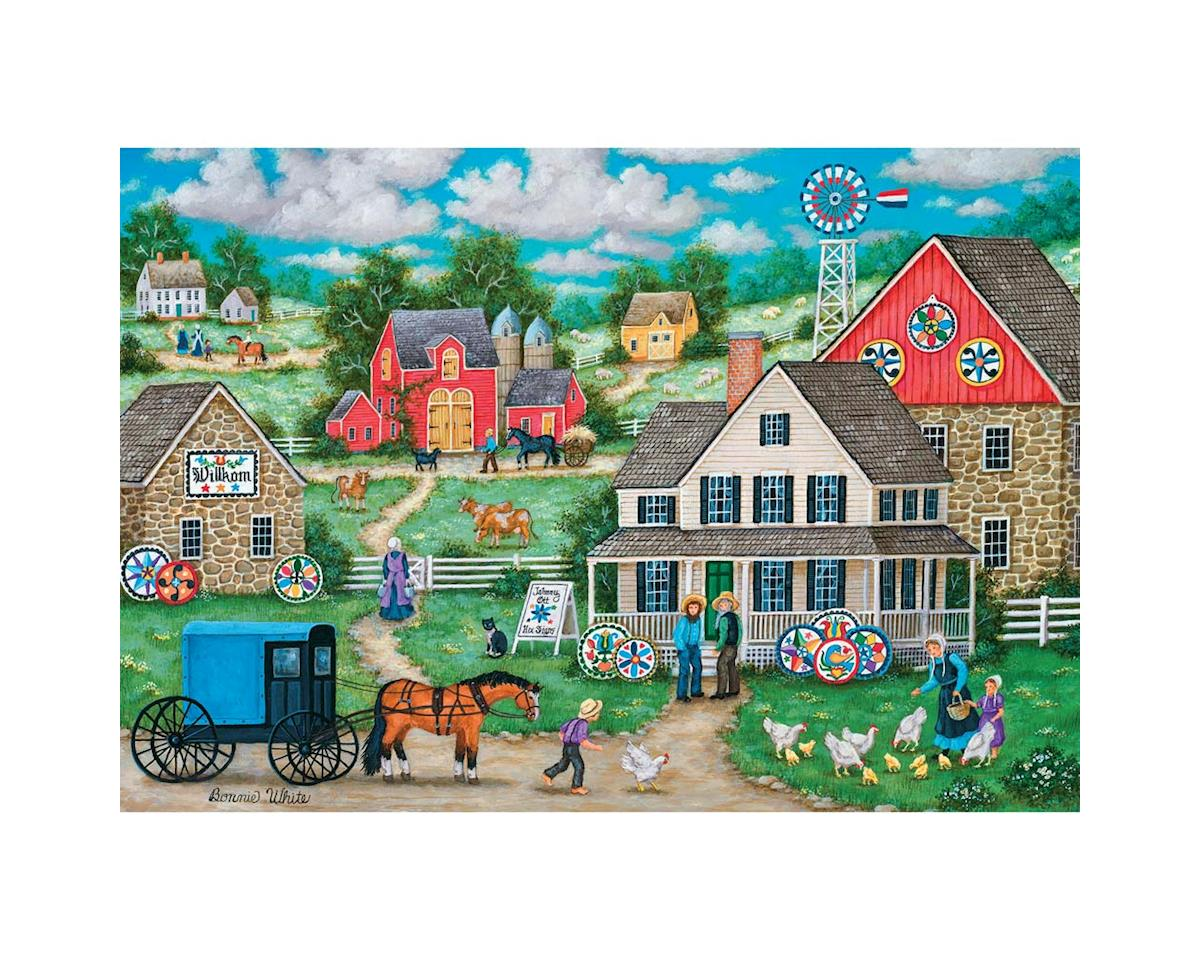 Masterpieces Puzzles & Games 71551 Johnny Otts Hex Signs 1000pcs
